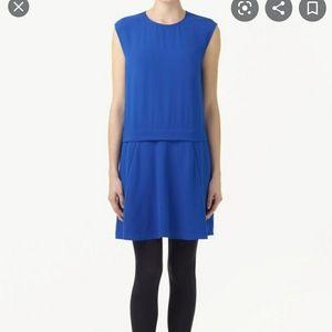 Aritzia Babaton Black Silk Reece Dress Size 0